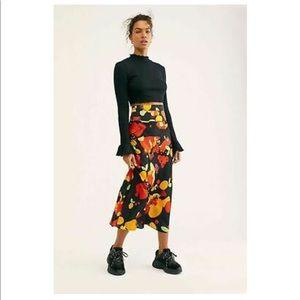 BNWT Free People Tutti Fruiti Skirt